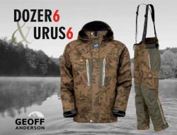 Komplet Geoff Anderson Dozer + Urus 6 - maskáč