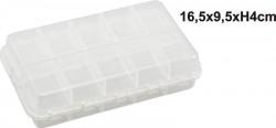 obojstranná plastová krabička 16,5x9,5x4cm