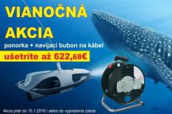 AKCIA ponorka Power Ray + navíjací bubon