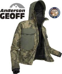 Geoff Anderson, bunda WS 4, leaf - maskáč