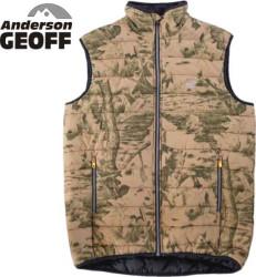 Geoff Anderson rybárska vesta Dozer Liner maskáčová