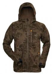 Fleece bunda Hoody 3 Geoff Anderson - prevedenie leaf