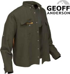 Rybárska košeľa Polybrush 2 Geoff Anderson - zelená