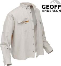 Rybárska košeľa Polybrush 2 Geoff Anderson - piesková