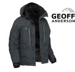 Bunda Geoff Anderson Dozer 6 - čierna