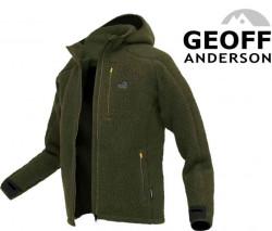 Mikina s kapucňou Geoff Anderson Teddy - zelená