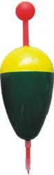 Plavák pevný, žlto-zelený, KP