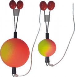 Signalizátor odpadávací OD, farba žlto-červená