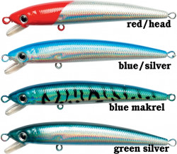 Wobler Zebco, Bully Minnow, 7cm/f. red head