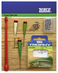 Rybársky set Trout Float Set, 28ks