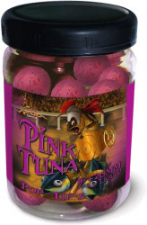 Boilies Pink Tuna Pop Up, 16/20mm,75g + Dip