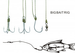 Systém Black Cat Big Bait veľ. 6/0