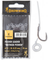 Browning nadväzec Feeder Method Power Pellet Band, 6ks