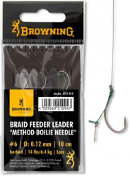Nadväzec Browning method feeder s tŕňom / 3ks