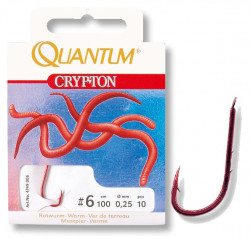 Háčik Crypton Red Worm 10ks