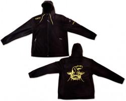 Mikina Black Cat Fleece Jacket