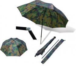 Dáždnik ZEBCO, Nylon Umbrella, f. maskáč, pr. 2,20m