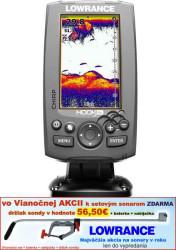 Lowrance Hook-4X sonar Chirp/DSI
