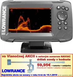 Sonar na ryby LOWRANCE HOOK2-5x HDI GPS SplitShot
