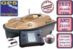 Zavážacia loďka Prisma 6 + sonar + GPS - 22000mAh