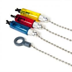 Swinger retiazkový 3ks, žltý, červený, modrý
