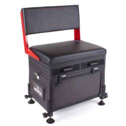 JVS sedací box s operadlom 32 x 42 x 60 - červená