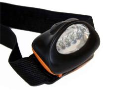 ECO rybárska čelovka s piatimi LED diódami