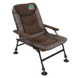 Rybárske stoličky SPORTS ROCA II L 76x60x80cm