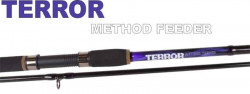 Prút JVS Terror Method Feeder 3,3m/2diel