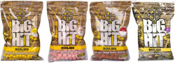 Boilies Big Hit Crafty Catcher 20mm/1kg + pop up