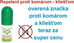 Repelentný spray SZUKU 50ml