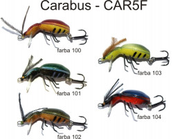 Lovec Rapy Hmyz Carabus vobler 3,5cm, plávajúci