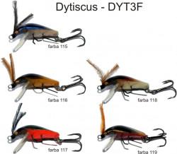 Lovec Rapy Hmyz Dytiscus vobler 3cm, plávajúci