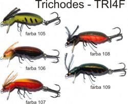 Lovec Rapy Hmyz Trichodes vobler4cm, plávajúci