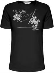 Rybárske tričko - loviaci muškár