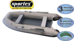 Rybársky čln SPORTEX Shelf s kýlom+nafukovacia podlaha